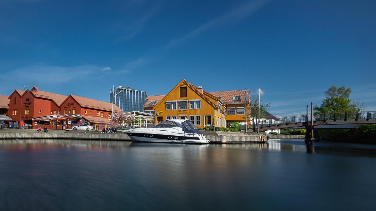 Fischerhafen in Kristiansand