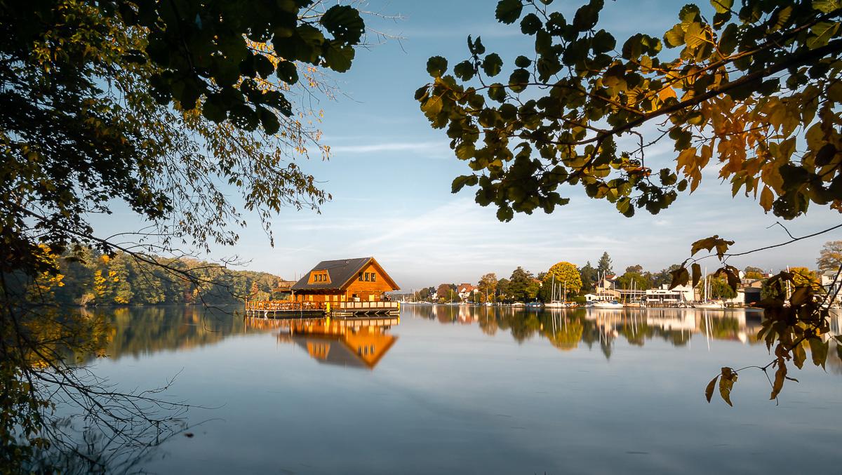 Haus auf dem Wasser